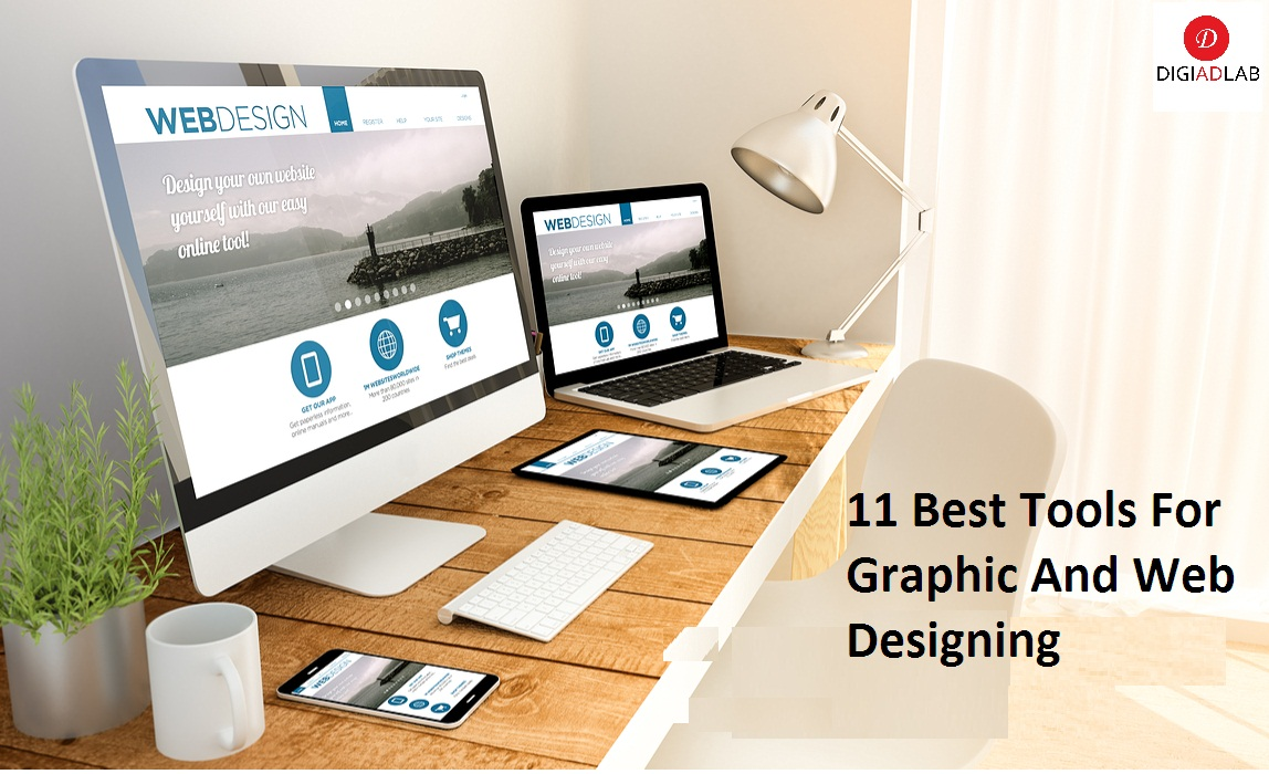 graphic and web designing