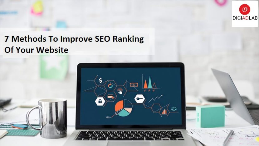 7 methods to improve seo ranking of your website