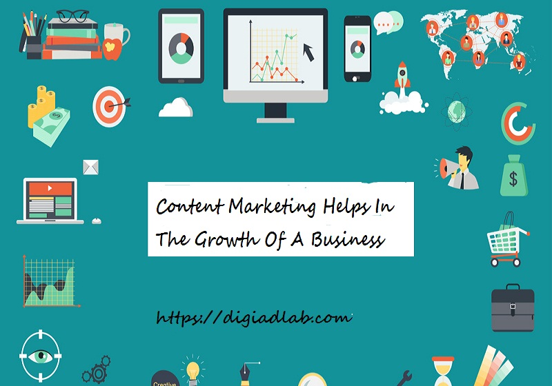 content marketing helps in the growth of a business