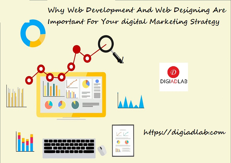 Why Web development and web designing are important for your digital marketing strategy